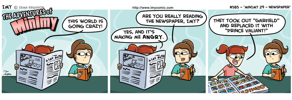 585 – MinImy 29 – Newspaper
