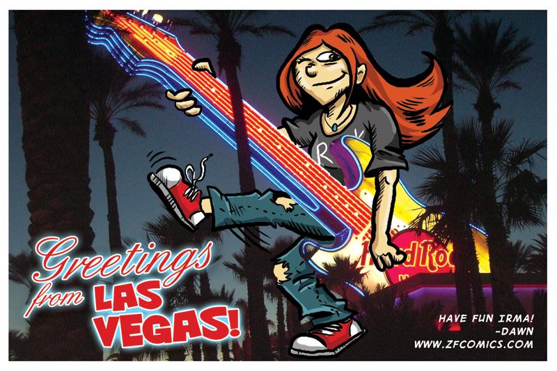 Postcard from Imy: Las Vegas/Hard Rock