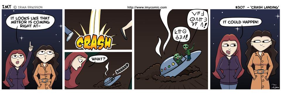 307 – Crash Landing