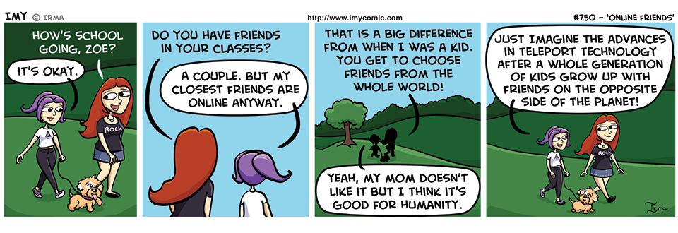 750 – Online Friends