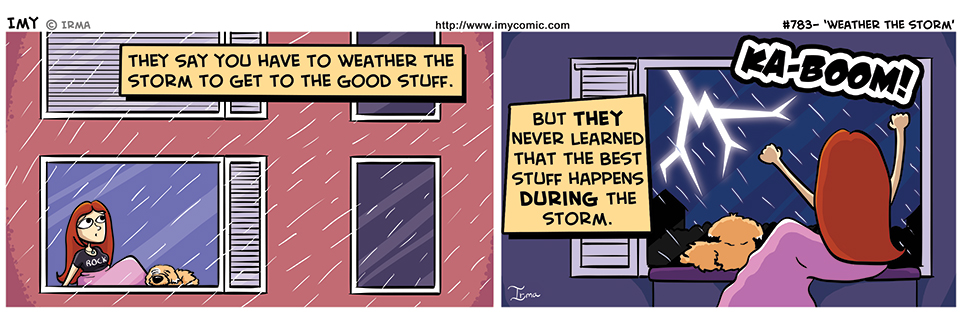 783 – Weather the Strorm