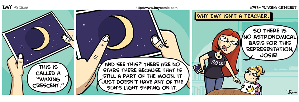 795 – Waxing Crescent