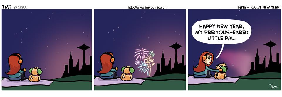 816 – Quiet New Year