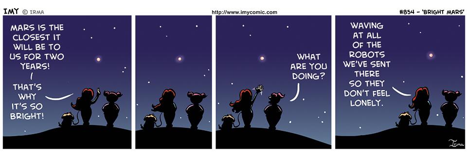 854 – Bright Mars