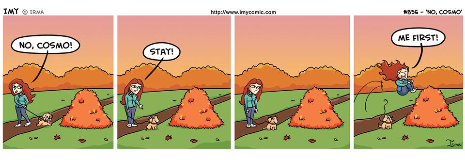 856 – No, Cosmo