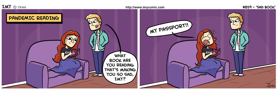859 – Sad Book