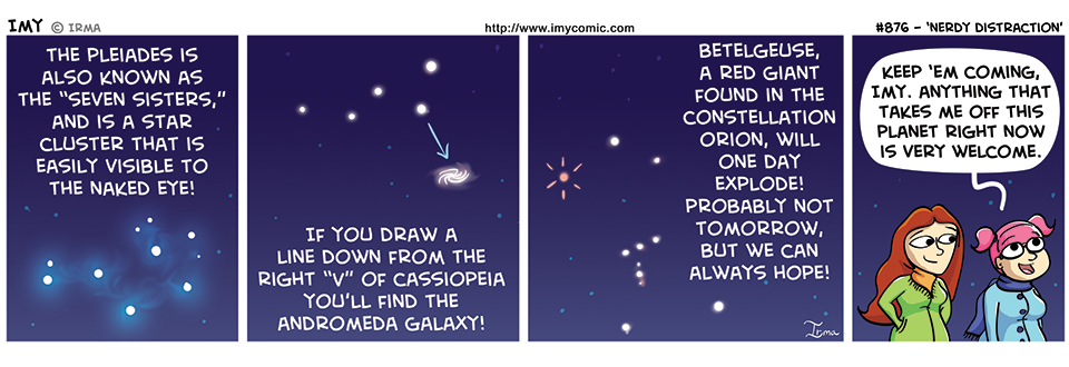 876 – Nerdy Distraction