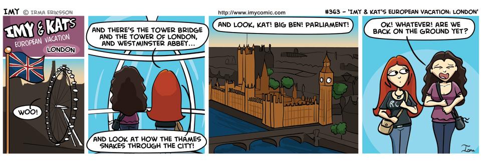 363 – Imy & Kat's European Vacation: London