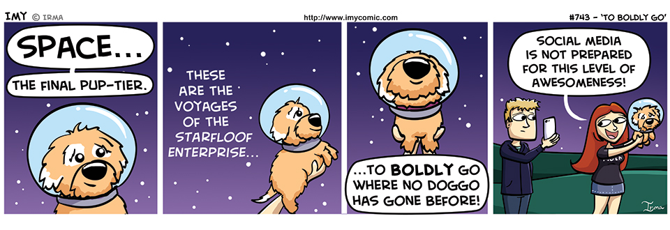 743 – To Boldly Go